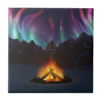 Cwm Aurora Decorative Tile / Trivet