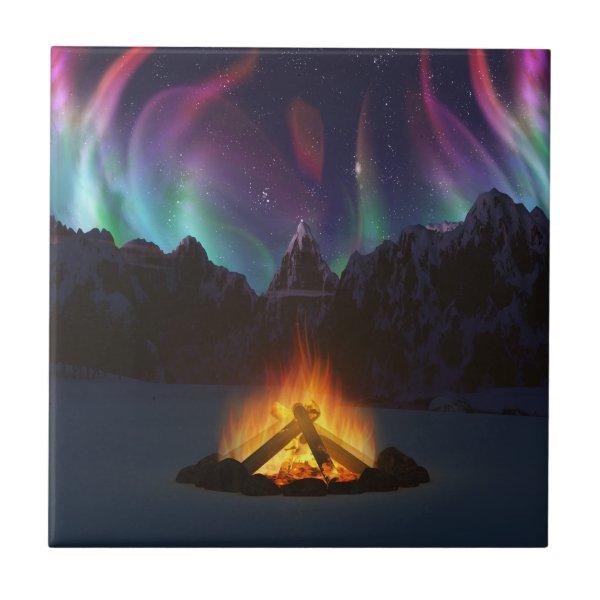 Cwm Aurora Decorative Tile / Trivet