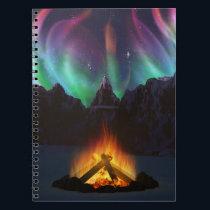 Cwm Aurora Notebook