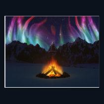 Cwm Aurora Postcard