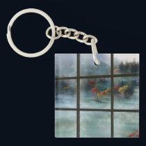 Cwm Autumn Frost Acrylic Keychain