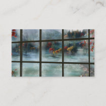 Cwm Autumn Frost Bookmarks Business Card