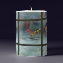 Cwm Autumn Frost Pillar Candle