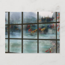 Cwm Autumn Frost Postcard