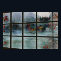 Cwm Autumn Frost Print