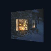 Cwm Christmas Canvas Print