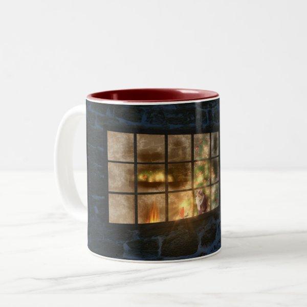 Cwm Christmas Mug