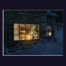 Cwm Christmas Postcard