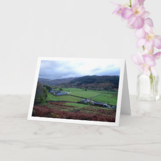 Cwm Llan Farm, Snowdonia, North Wales Card