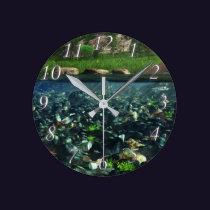 Cwm River Clock