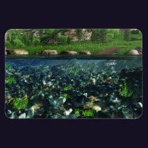 Cwm River Flexible Magnet