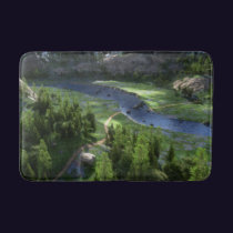Cwm Solitude Bathmat