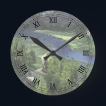 Cwm Solitude Clock