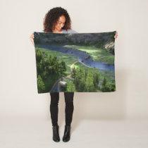 Cwm Solitude Fleece Blanket