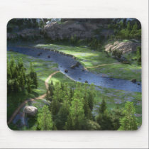 Cwm Solitude Mousepad