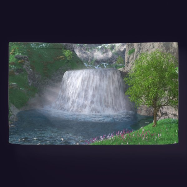 Cwm Waterfall Banner