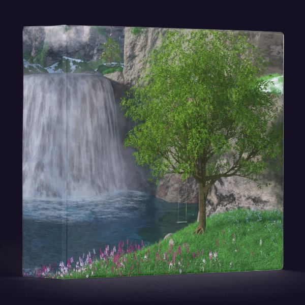 Cwm Waterfall Binder
