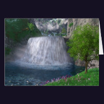 Cwm Waterfall Card