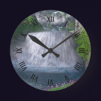 Cwm Waterfall Clock