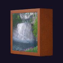 Cwm Waterfall Desk Organizer