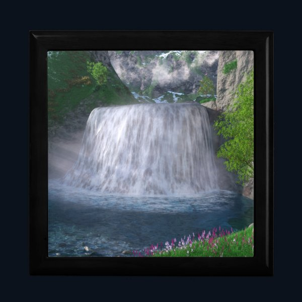 Cwm Waterfall Jewelry Box