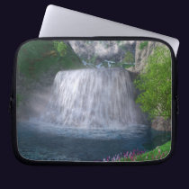 Cwm Waterfall Laptop Sleeve
