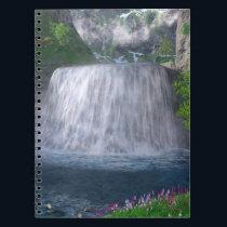 Cwm Waterfall Notebook