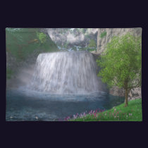 Cwm Waterfall Placemat