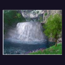 Cwm Waterfall Postcard