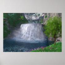 Cwm Waterfall Print