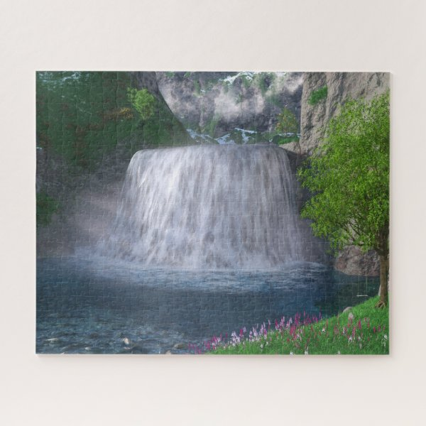 Cwm Waterfall Puzzle