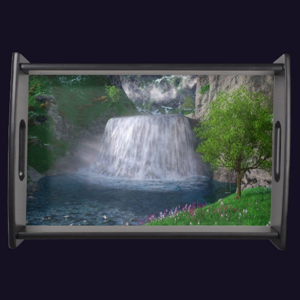 Cwm Waterfall Serving Tray