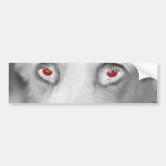 Cwn Annwn - Welsh Otherworldly Dogs of Death Bumper Sticker