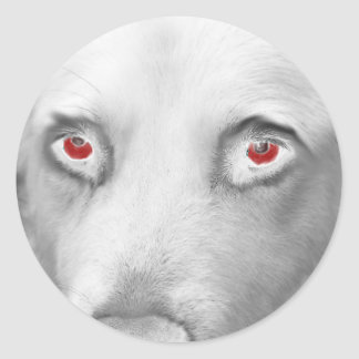 Cwn Annwn - Welsh Otherworldly Dogs of Death Classic Round Sticker