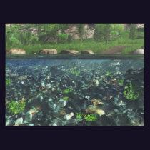 Cwn River Tablecloth