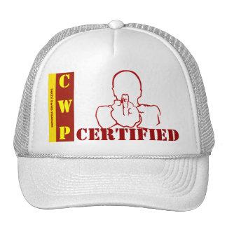 """CWP Certified"" Mesh Ballcap Trucker Hat"