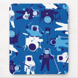 CWS Astro Rock-Blue Mouse Pad