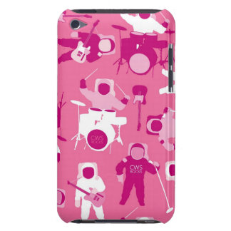 CWS Astro Rock-Pink Barely There iPod Cover