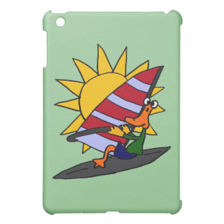 CX- Funny Duck Windsurfing Cartoon Cover For The iPad Mini