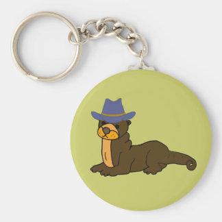 CX- Sea Otter in a Cowboy Hat Keychain