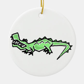 CY- Funky Gator Ornament