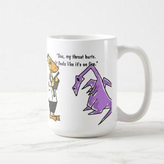 CY- Funny Doctor and Dragon Mug or Travel Mug