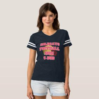 Cy Woods Football Mom Jersey T-shirt