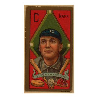 Cy Young, Cleveland Naps Poster