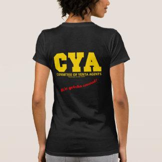 CYA-gotcha covered T-shirts