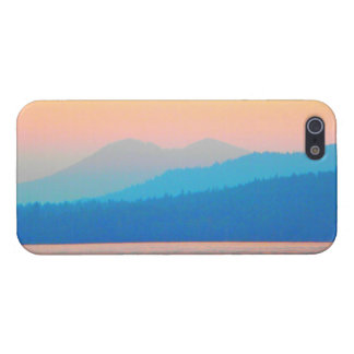 Cyan and Salmon Sunset Cover For iPhone SE/5/5s