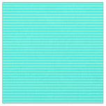 [ Thumbnail: Cyan & Aquamarine Lines Fabric ]