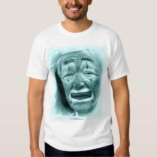Cyan Clown  Tee Shirt