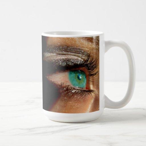 Cyan Eye Coffee Mug