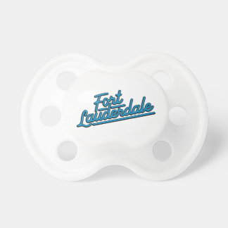 cyan Fort Lauderdale Baby Pacifiers